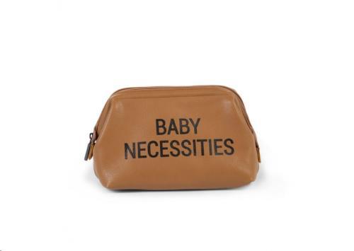 BABY NECESSITIES LEATHERLOOK BRUIN