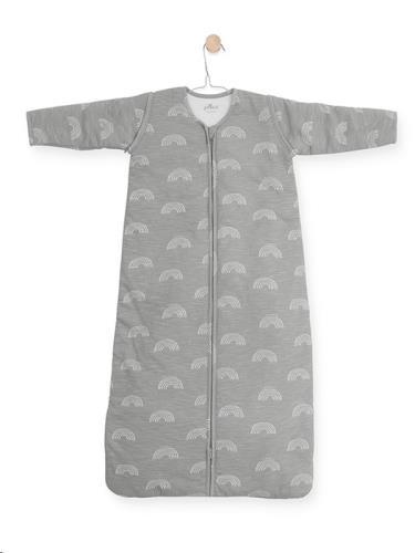 Baby slaapzak 110cm Rainbow grey met afritsbare mouw