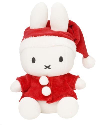 Miffy Santa zittend - 23 cm