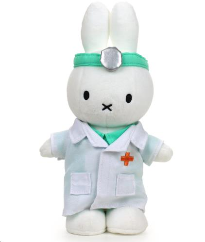 Miffy dokter - 24 cm