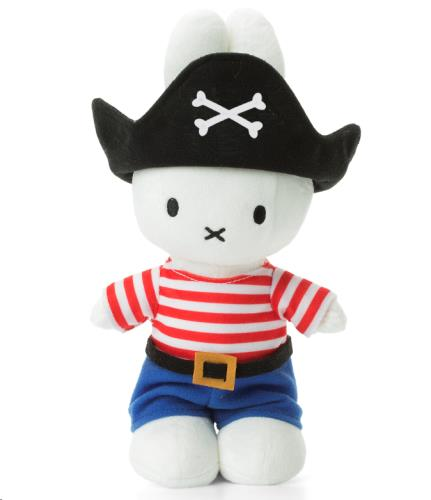 Miffy Piraat - 24 cm