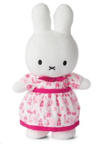 Miffy roze jurk - 34 cm