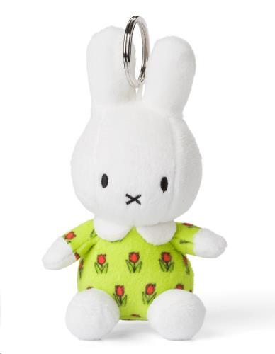Miffy bloemenjurk sleutelhanger - 13 cm