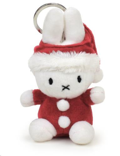 Miffy Santa sleutelhanger - 10 cm