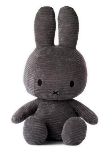 "Corduroy dark grey - 23 cm - 9"""
