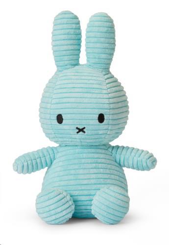 Miffy Corduroy Turquoise - 23 cm