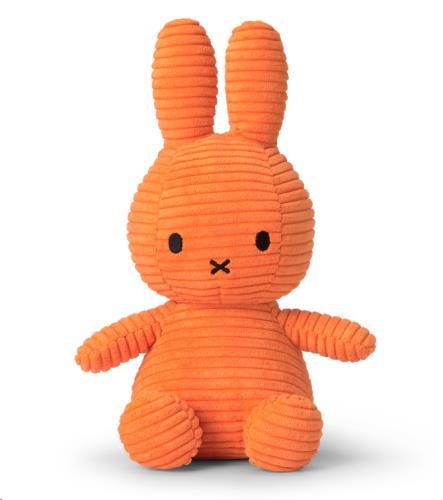 Miffy Corduroy Orange - 23 cm
