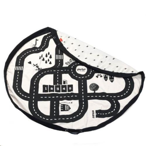 opbergzak - speelmat Roadmap/thunderbolt