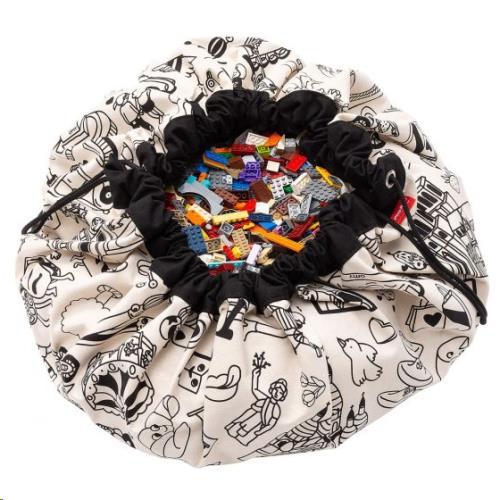 opbergzak - speelmat Color My bag OMY PARIS