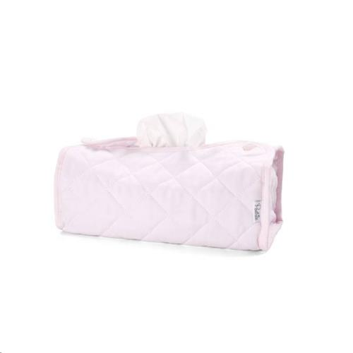 Tissue box hoes (Kleenex)  OXFORD SOFT PINK