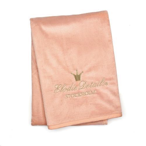 Pearl Velvet deken Faded Rose