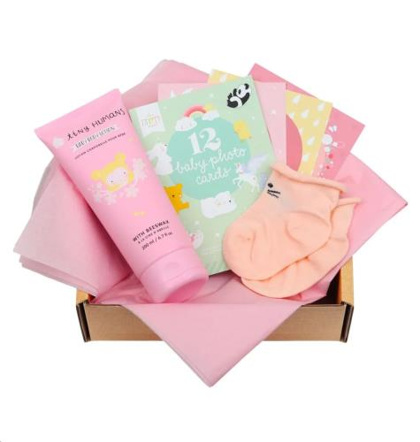 Baby gift box: Welcome little girl (S)