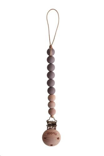 Fopspeenketting CLEO Ash/Wood