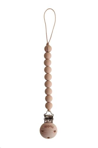 Fopspeenketting CLEO Pale Taupe/Wood