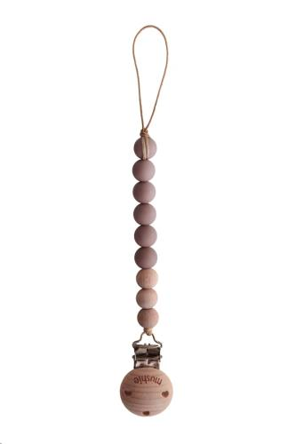 Fopspeenketting CLEO Cloud mauve/Wood