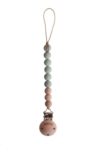 Fopspeenketting CLEO Sage/Wood