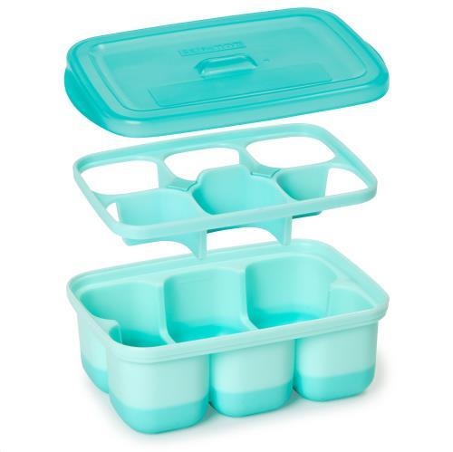 Easy Fill Freezer Trays Grey/Teal