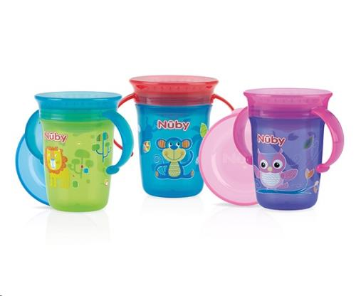 360° Wonder cup met handvatten - 240ml - 6m+