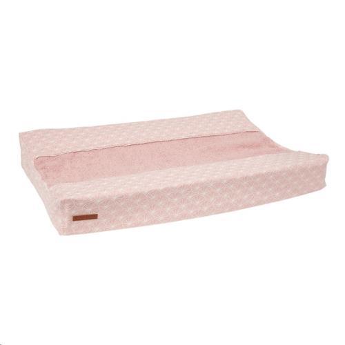 Aankleedkussenhoes - Lily Leaves Pink 44x68-72