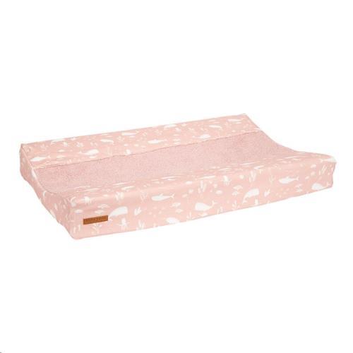 Aankleedkussenhoes - Ocean Pink 44x68-72