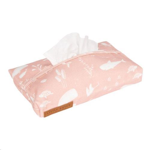 Babydoekjes hoes - Ocean Pink