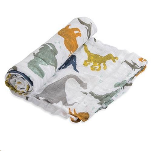 Tetra doek single -  Dino Friends - One size