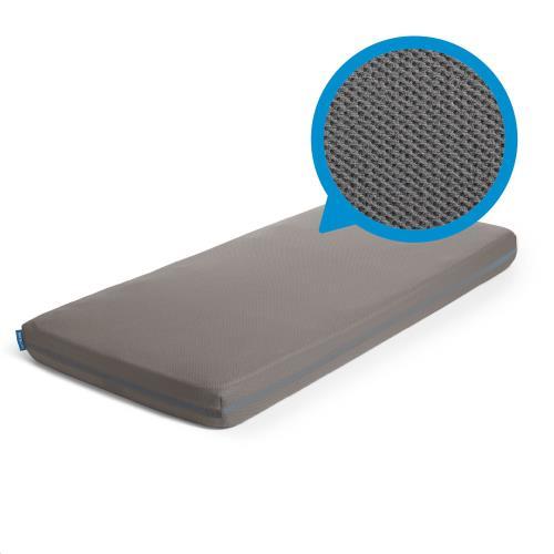 Sleep Safe Hoeslaken Dark Grey 60x120