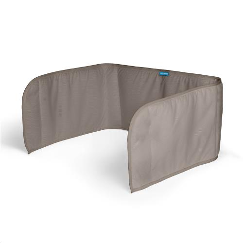 Sleep Safe Bedomrander Dark Grey 60x180