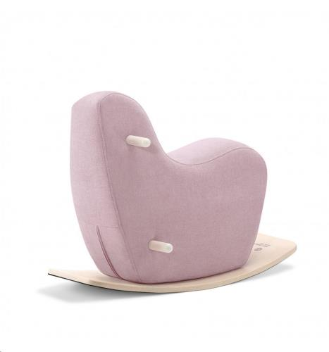 Rocking horse - PALE PINK (small)