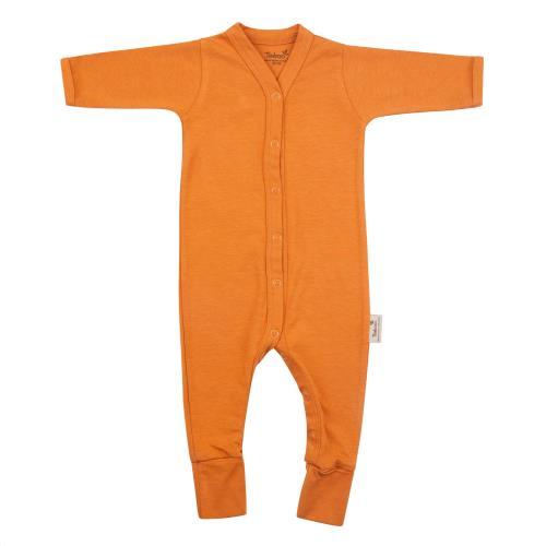 Babypakje lange mouwen met voet 50/56 Inca Rust