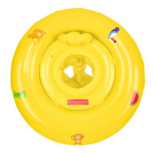 Baby Float print Yellow 0-1 jaar