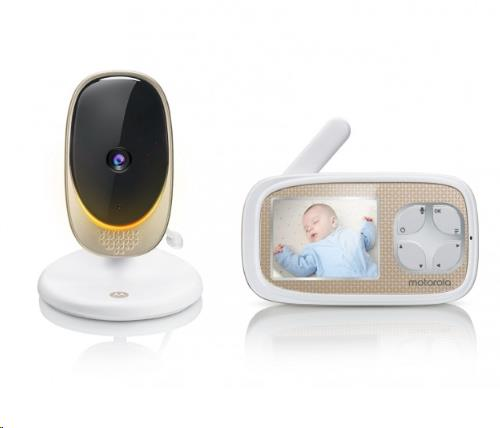 """2.8"""" Wifi Video Baby Monitor Fixed Cam."""