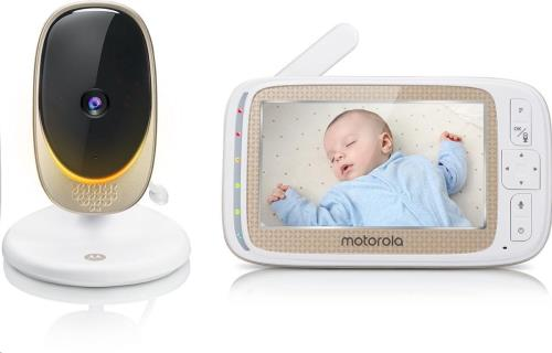 """5.0"""" Wifi Video Baby Monitor Fixed Cam."""