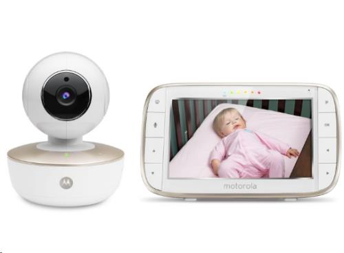 "5.0"" Wifi video baby monitor pan, tilt zoom camera"