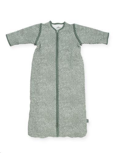 Baby slaapzak 110cm Snake ash green met afritsbare mouw