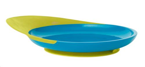 EETBORD CATCH PLATE BLAUW/GR.
