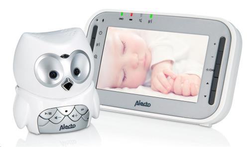 "Babyfoon uil met camera 4.3"" kleurenscherm - DVM-207"