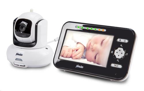 """Babyfoon met camera en 4,3"""" kleurenscherm - DVM-370"""