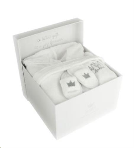Giftbox - Badjas met slotjes