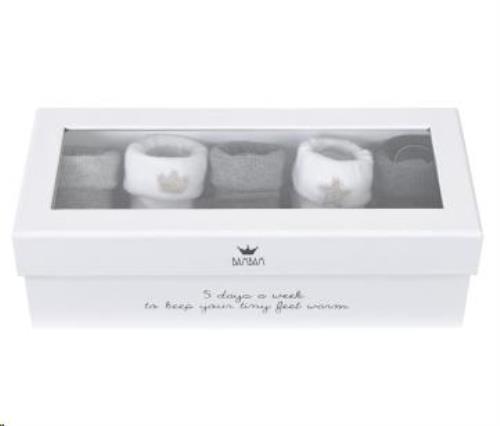 Giftbox - 5 paar sokjes
