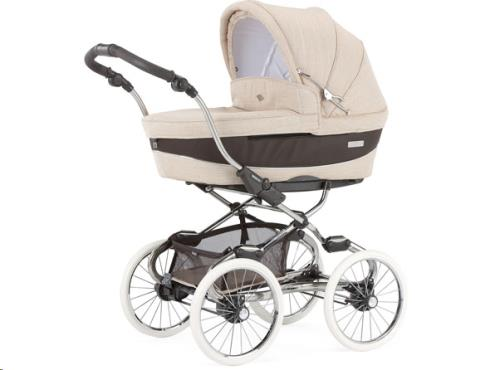 Stylo Class chromé-brown chassis M744