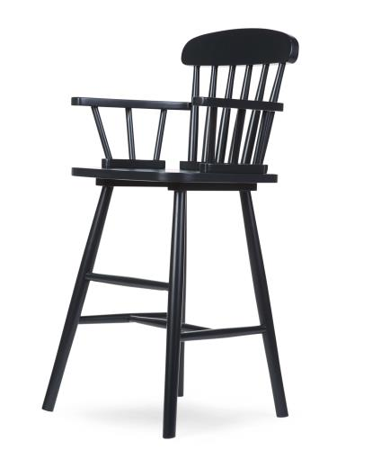 ATLAS CHILDREN HIGH CHAIR BLACK