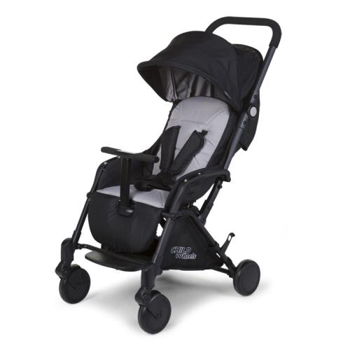 NEW T-COMPACT BLACK STROLLER + RC + MC adapter