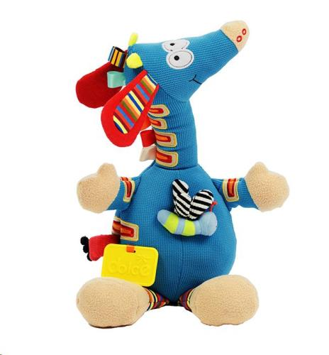 Dolce - Activiteiten knuffel - Muzikale Giraffe