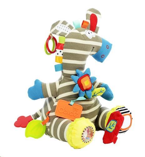 Dolce - Activiteiten knuffel - Activiteiten Zebra