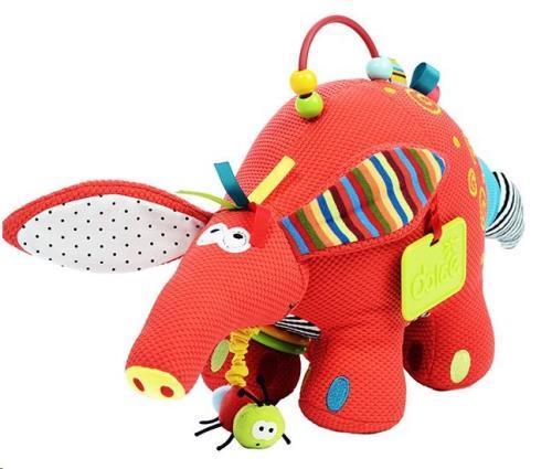 Dolce - Activiteiten knuffel - Aardvarken