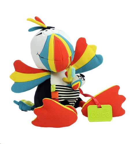 Dolce - Activiteiten knuffel - Papegaaiduiker