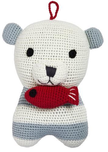 Smilla polar bear musical toy