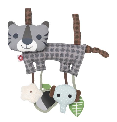 Hasse grey tiger activity toy