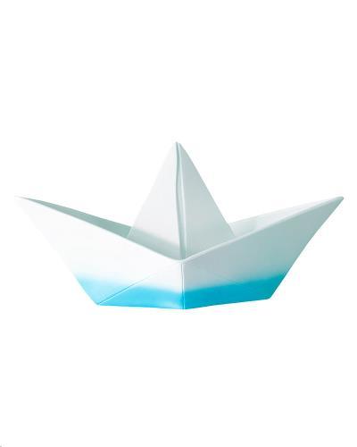 The Paper Boat Lamp - Cyan Dip